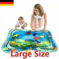 Kinder Wassermatte Baby Kleinkinder aufblasbare nasse Matratze Spiel Kissen DE