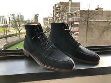 Meermin Navy Suede NST boots UK 11E HOK Last