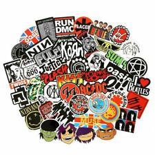 USA saler 100PCS band sticker Rock and Roll Music Pack Vinyl Waterproof