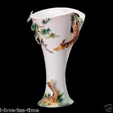 "14"" Adorable Giraffe Porcelain Vase Flower Holder for Home Decoration"
