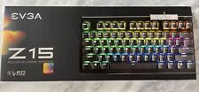 EVGA Z15 RGB Gaming Keyboard, RGB Backlit LED
