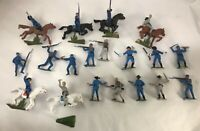25 LOTTO nordisti sudisti JECASN plastic soldier hand painted american civil war