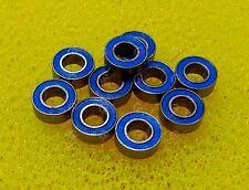 20 PCS MR83-2RS (3x8x3 mm) Rubber Sealed Ball Bearing Bearings BLUE MR83RS 3*8*3