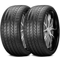 2 New Lexani LX-TWENTY 235/30ZR22 90W XL All Season High Performance UHP Tires