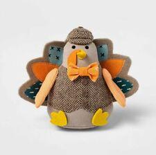 2020 Harvest Soft Fabric Thanksgiving Turkey Male Bird Figurine Spritz Target