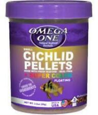 Omega One Cichlid Pellets 3.5 oz Small (2mm)
