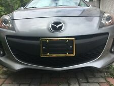 Front Bumper License Plate Mount Bracket + GOLD Frame for MAZDA FREE SHIPPING