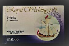GRENADINES OF ST VINCENT ROYAL WEDDING 1981 BOOKLET