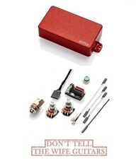 EMG HZ H4A RED PASSIVE HUMBUCKER GUITAR PICKUP SHORT SHAFT POTS ALNICO MAGNETS