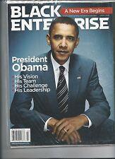 BARACK OBAMA BLACK ENTERPRISE BACK ISSUE MARCH 2009 A