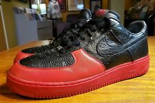 22eb47a8aa46 Nike Air Force 1 Red   Black Size 10.5 2007 318274-001 Size 14