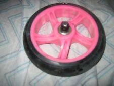 Razor Power Core E90 Front Wheel Complete - Pink used authentic decent shape-