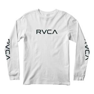 RVCA Big Long Sleeved T-Shirt - White - Medium BNWT