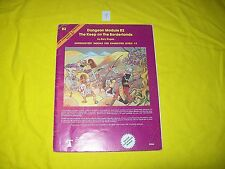 B2 THE KEEP ON THE BORDERLANDS DUNGEONS & DRAGONS TSR 9034 MODULE 9 1ST PRINT