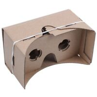 6 inch DIY 3D VR Virtual Reality Glasses Hardboard For Google Cardboard P3P3