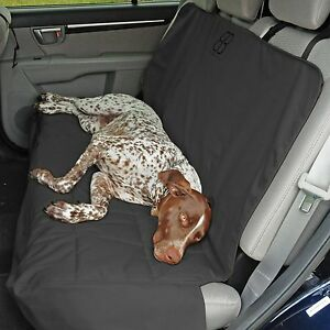 Petego Emanuele Bianchi  Dog Car Auto Pet Rear Seat Cover Protector Anthracite