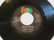 "Candi Staton - He Called Me Baby / What Would Become Of Me Vinyl 7"" 45 - Fame -"
