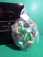 Christopher Radko Five Gold Rings 12 Days of Christmas Ornament SEALED Limit Ed
