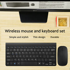 2.4GHz USB Wireless Mini Keyboard with Mouse Combo For Computer Laptop