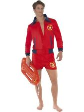 Baywatch Lifeguard Beach TV Adult Mens Smiffys Fancy Dress Costume - Medium