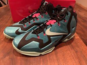 New Nike Lebron XI 11 South Beach Sport Turquoise Size 10 New basketball shoe
