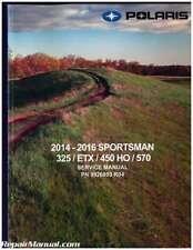 2014-2016 Polaris Sportsman 325 ETX 450 HO 570 Service Manual : 9926803