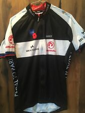 CYCLING SHIRT SPECIALIZED With Pokets and zip XL Jersey Trikot Cycle To Paris