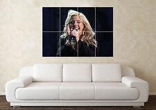 Gran Ellie Goulding Guitarra Rock Pop Música pared del dormitorio de arte cartel impresión de foto