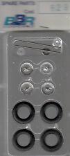 roues à rayons BBR 1/43e pour voitures années 50-55 référence R29
