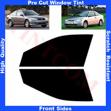 Pre Cut Window Tint Honda Civic 2 Doors Coupe 2001-2005 Front Sides Any Shade