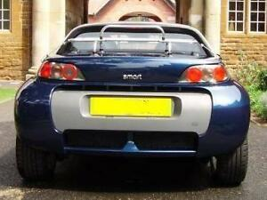 Boot luggage rack / carrier, Smart Roadster 2003-07, stainless steel, s/s