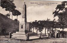 #BOVILLE ERNICA: MONUM. AI CADUTI 28 GEN. 1861 E PIAZZA VITT. EMANUELE III