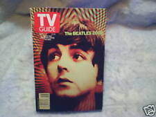 2000 TV GUIDE THE BEATLES 2000 Paul McCartney