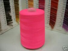 (1) Cone Serging Thread~Neon Hot Pink #D496~10,000 Yds