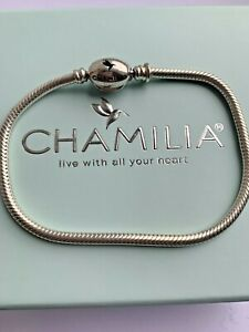 Genuine Chamilia Bracelet   - Size 19.5cm - New Style #D/2