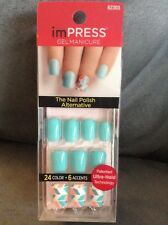 Impress #62303 Bells & Whistles Manicure One-Step Gel Nails & Accents Turquoise