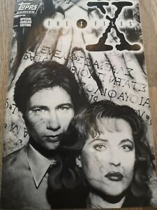 The X-FILES SPECIAL ASHCAN EDITION Topps Comic (January 1995)    VFN/NM