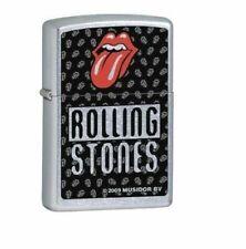 Vintage Retired Unstruck Zippo - Rolling Stones 24454