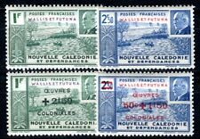 WALLIS et FUTUNA 1941 Yvert 90-91, 131-132 * SATZ PETAIN (F4181