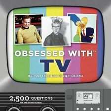 OBSESSED WITH TV Book - Fun Trivias Over Classic Series & Shows