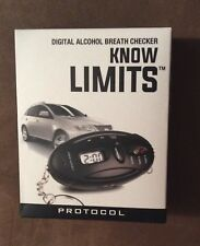 Know Limits Digital Alcohol Breath Checker led light key chain( Know your limit)