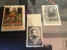 Russia collection lot of Used Classic stamps with missed perforations