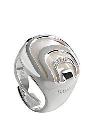 Anello da mignolo Damiani Damianissima 925 20071030 argento madreperla ring