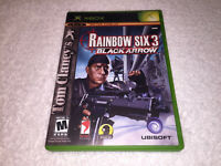 Tom Clancy's Rainbow Six 3: Black Arrow (Microsoft Xbox) Original Complete Exc!