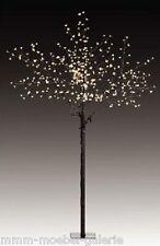 600 LED Kirschbaum Lichterbaum H: 250 Innen Beleuchtung Baum Blüten Bäumchen