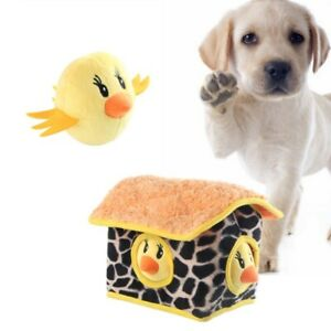 GWALSNTH Dog Squeaky Toy Hide and Seek Puzzle Interactive Durable Plush Dog Toys