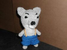 Handmade Crocheted Amigurumi  Wolf