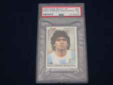 PANINI WM 1986 Mexico 86 World Cup, adesivo/immagine, 84 Diego Maradona, PSA graded 6