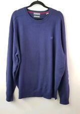 Lyle & Scott Men XXL Blue Crew Neck Sweater NWT