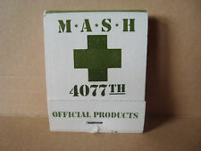 One Vintage 1980's M.A.S.H. 4077th D.D. Bean & Sons Unused MATCHBOOK